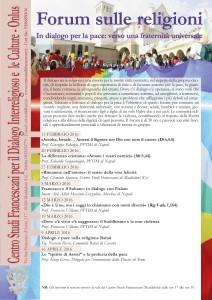 Forum sulle religioni 2016